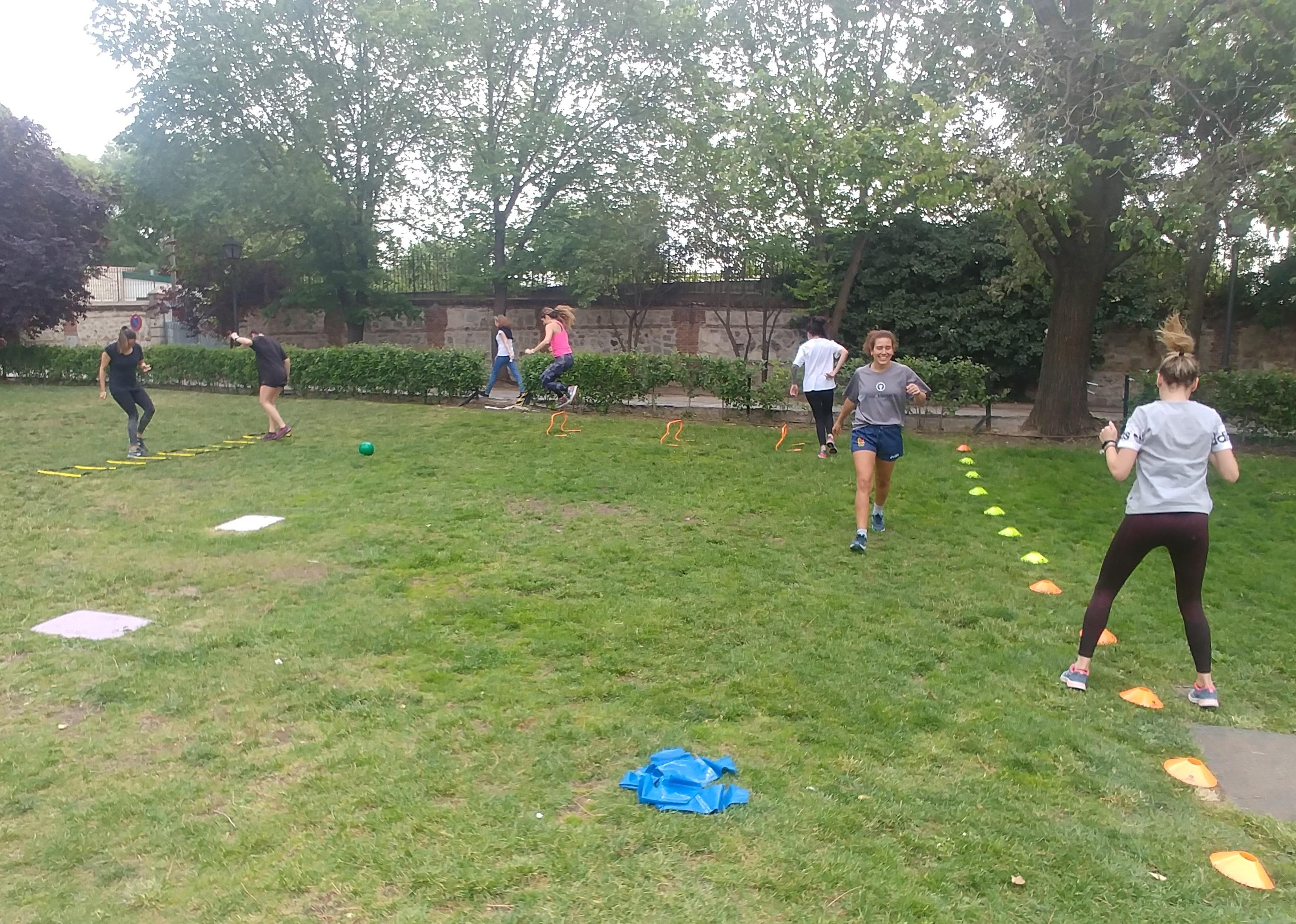 entrenamiento en grupo - entrenador personal Marid